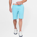 Shackleford Hybrid Mélange Performance Short in Grotto Blue by Peter Millar