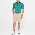 Shackleford Hybrid Mélange Performance Short in Khaki by Peter Millar