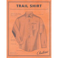 Elbow-Patch Trail Shirt in Blue/Grey Ombre Mix Check by Pendleton