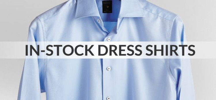 In-Stock Dress Shirts