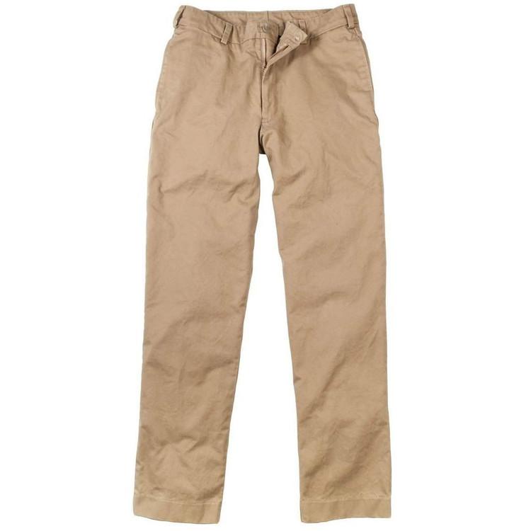 Original Twill Pant in British Khaki (Model M2, Size 32) by Bills Khakis