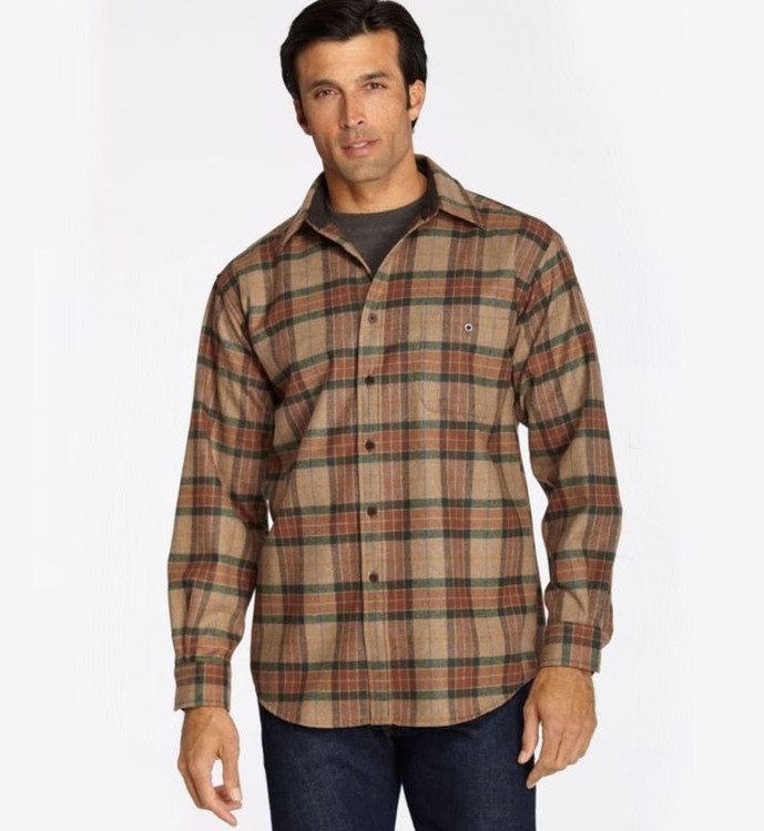 Ranger Plaid Elbow-Patch Trail Shirt by Pendleton