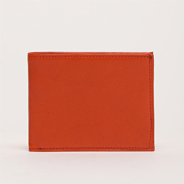 Bi-Fold Wallet in Titan Cherry by Moore & Giles