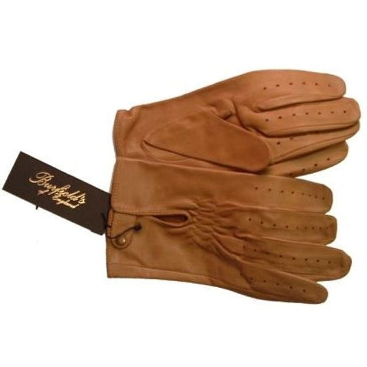 Abyssinian Cabretta Lambskin Glove in Brown by Burfield