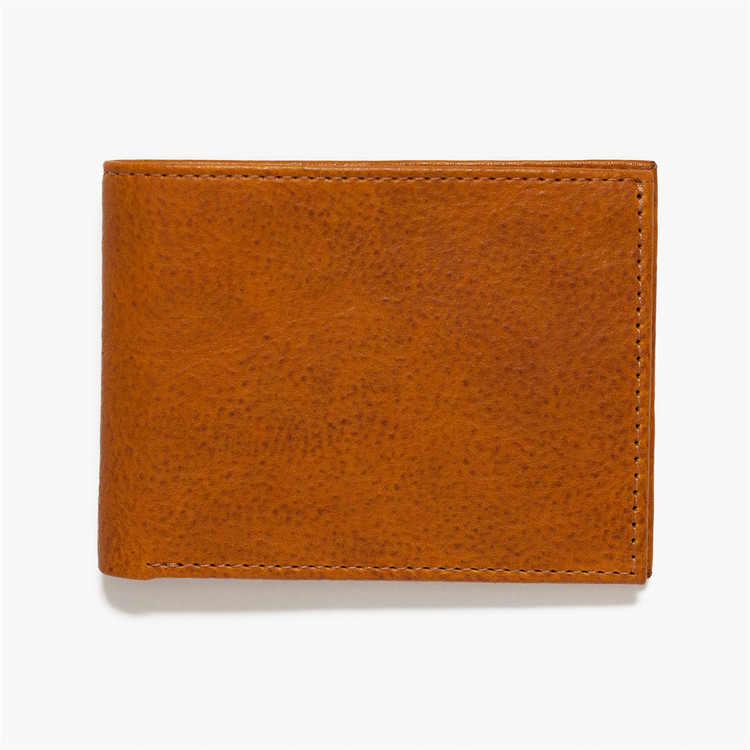 Bi-Fold Wallet in Modern Saddle by Moore & Giles