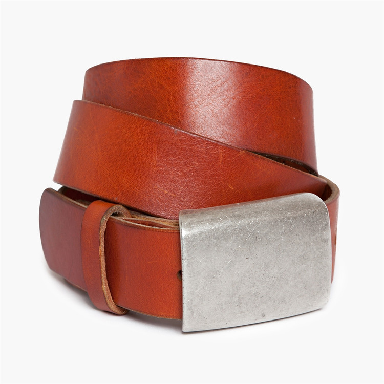 Douglas Belt in Orange by Moore & Giles