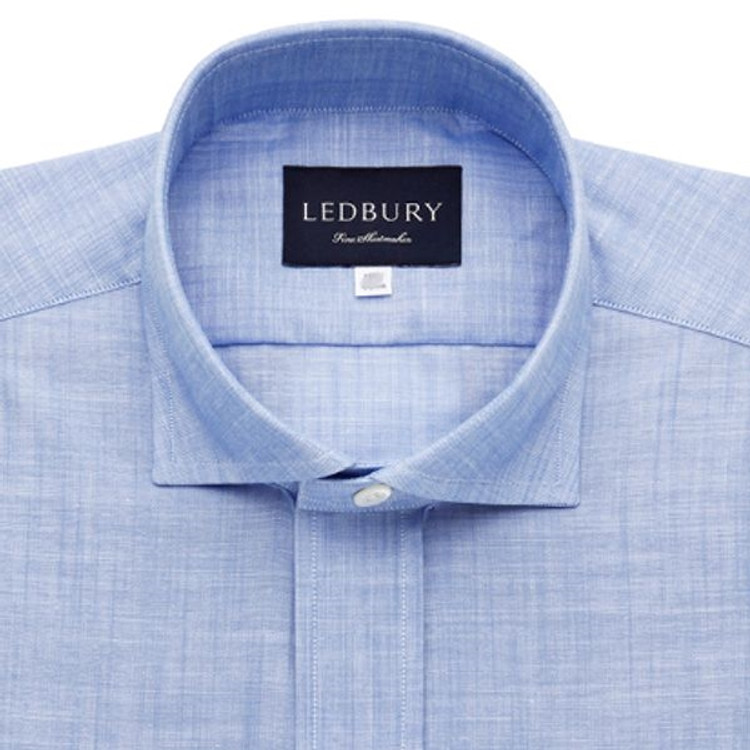 The Blue McDaniel Chambray Shirt by Ledbury
