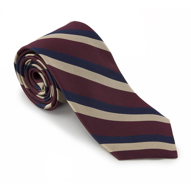 'Beltonians' British Regimental Tie by Robert Talbott