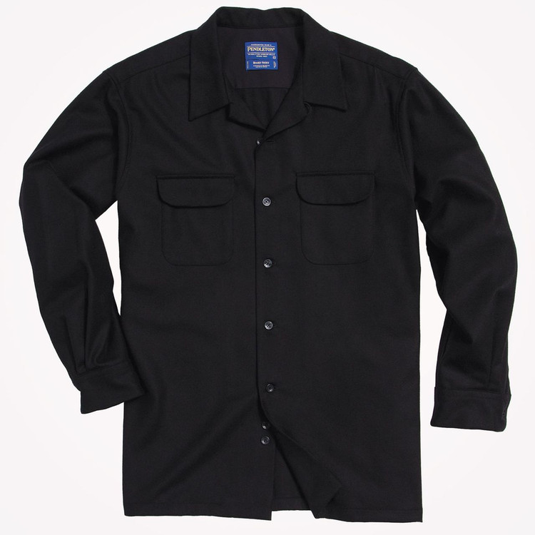 Black Board Shirt by Pendleton