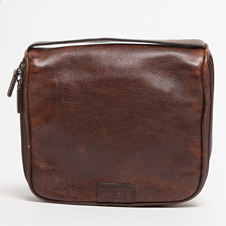 Donald Dopp Kit in Titan Milled Brown by Moore & Giles