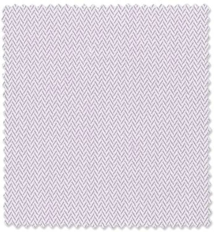Lavender and White Dobby Herringbone Custom Dress Shirt by Robert Talbott
