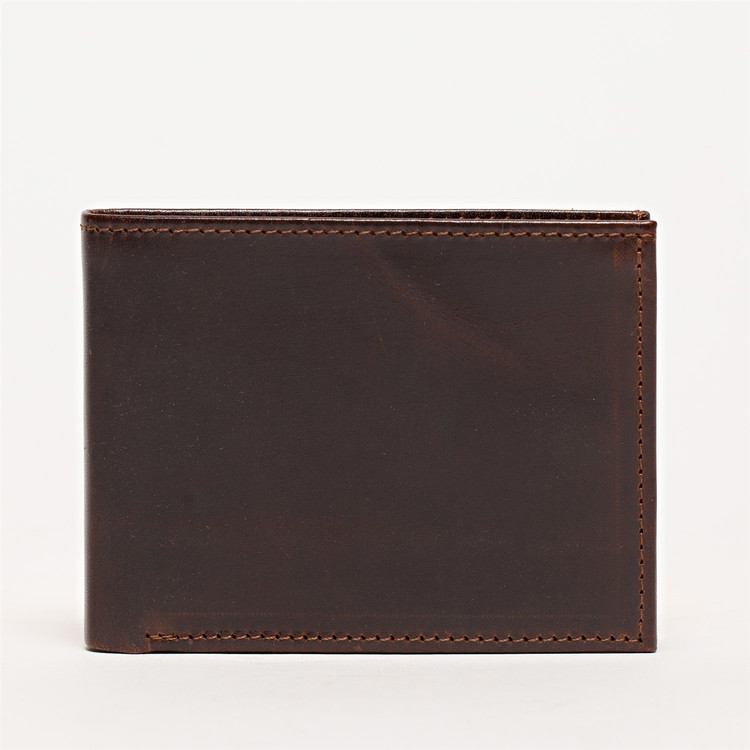 Bi-Fold Wallet in Brompton Brown by Moore & Giles