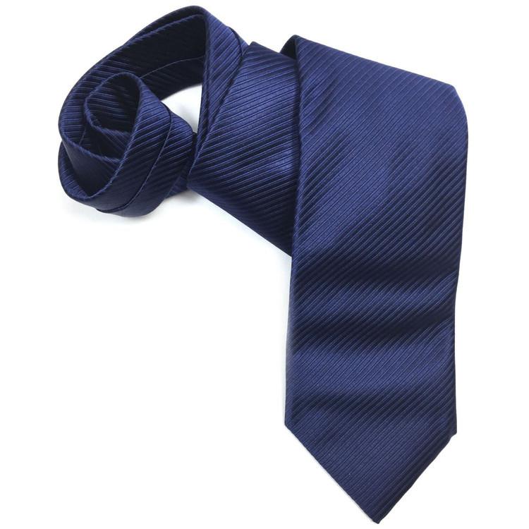 Navy 'Robert Talbott Protocol' Hand Sewn Woven Silk Tie by Robert Talbott