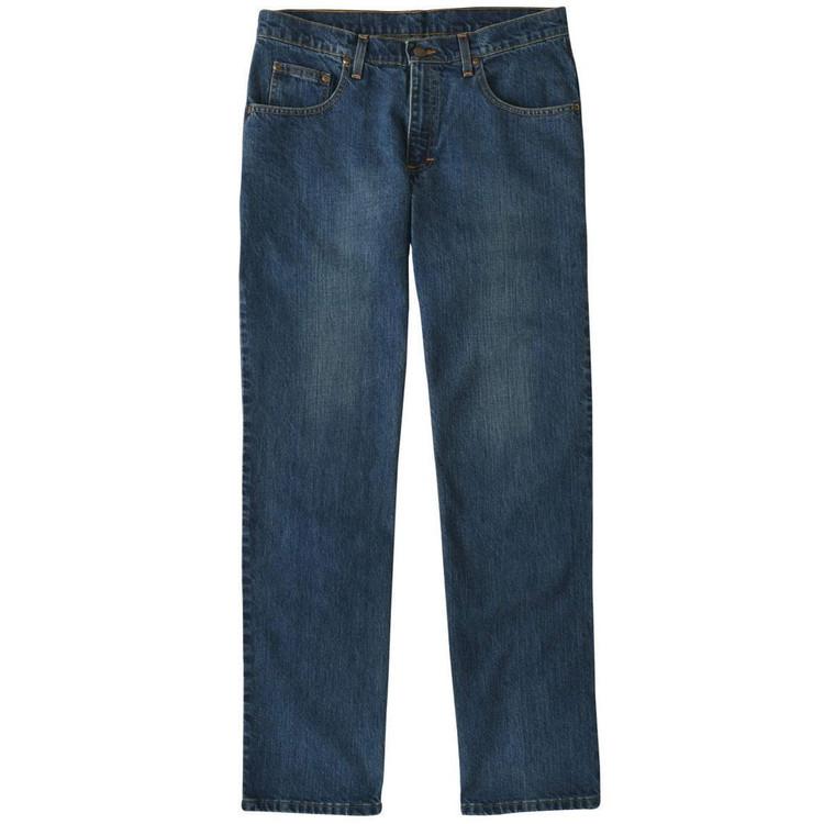 5 Pocket Classic Fit Denim Jean in Vintage Wash by Bills Khakis