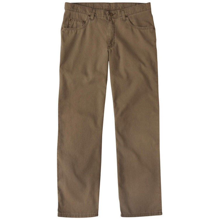 Weathered Canvas Five Pocket Model in Olive by Bills Khakis