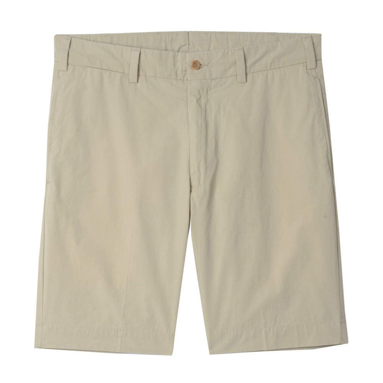 Tropical Poplin Short - Model M2 in Khaki by Bills Khakis