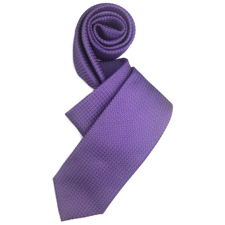 Fall 2017 Best of Class Purple 'Super Grenadine' Woven Silk Tie by Robert Talbott