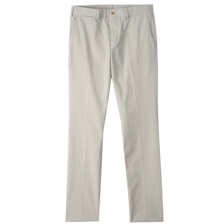 Original Twill Pant - Model M4 Slim Fit Plain Front in Cement by Bills Khakis