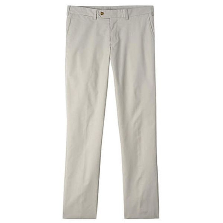 Travel Twill Pant - Model M3 Trim Fit Plain Front in Cement by Bills Khakis