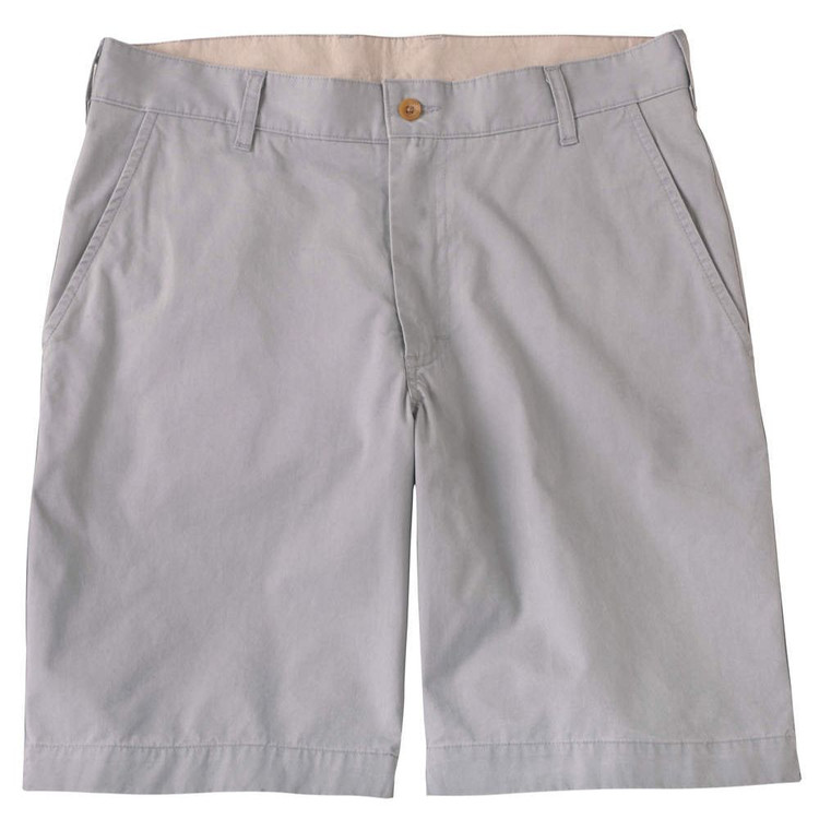 The Southport Twill Parker Short in Mercury by Bills Khakis
