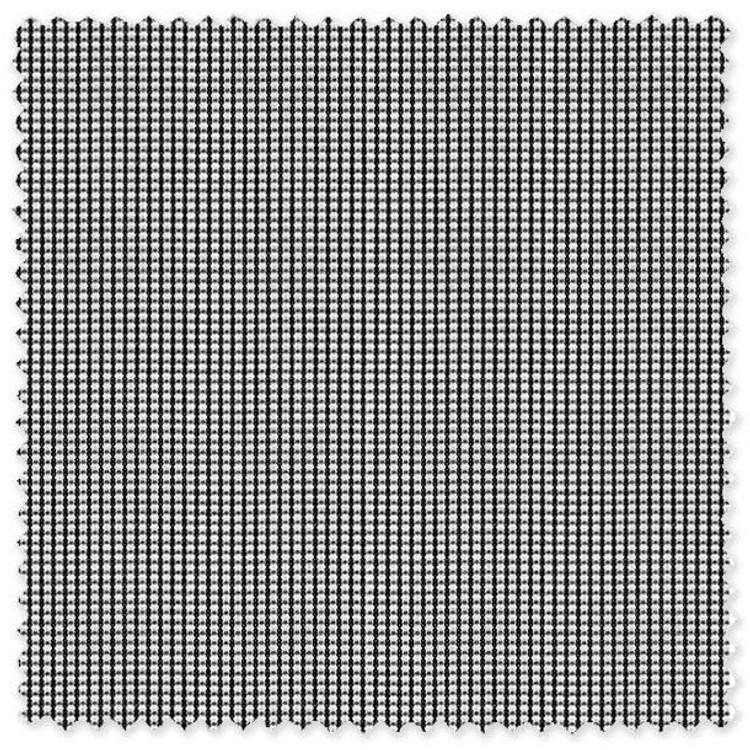 Black Stripe with Dot Cotton Broadcloth Custom Dress Shirt by Skip Gambert