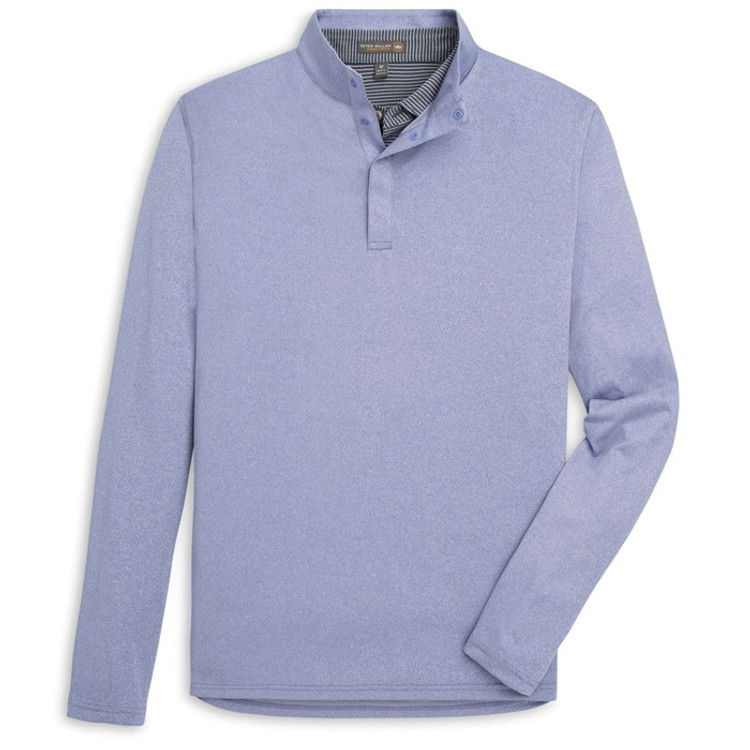'Foam' Featherweight Performance Pullover in Thunderbird by Peter Millar