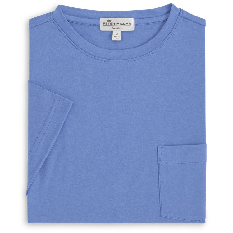 Seaside Pocket Tee in Bonnet by Peter Millar