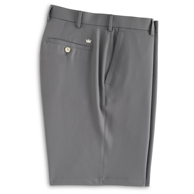 Salem Element 4 Performance Short in Smoke (Size 36 Only) by Peter Millar