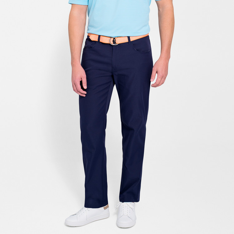 EB66 Performance Six-Pocket Pant in Yankee Blue 'Crown Sport' by Peter Millar