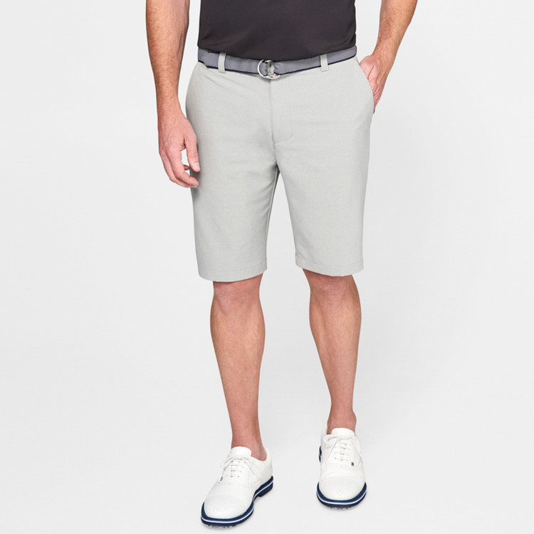 Shackleford Hybrid Mélange Performance Short in British Grey by Peter Millar