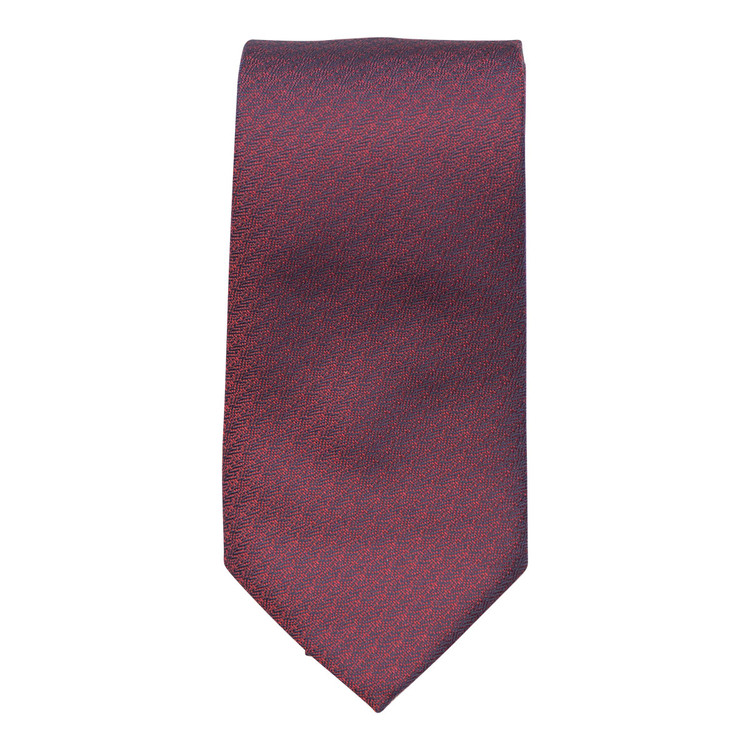 Best of Class Red 'Spanish Bay Solid' Woven Silk Tie by Robert Talbott