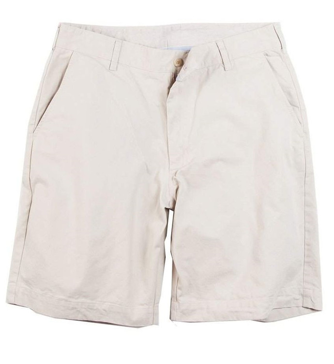 Island Twill Parker Short in Stone (Size 30) by Bills Khakis