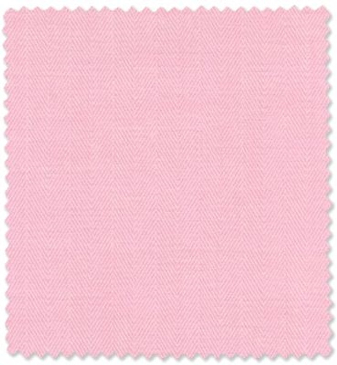 Pink Herringbone Custom Dress Shirt by Robert Talbott