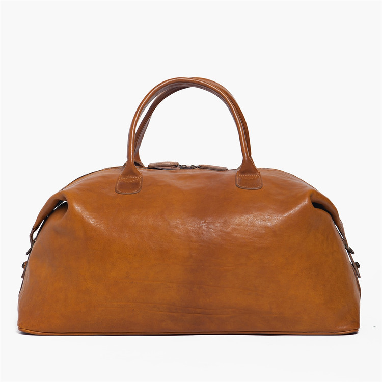 Benedict Weekend Bag in Modern Saddle by Moore & Giles