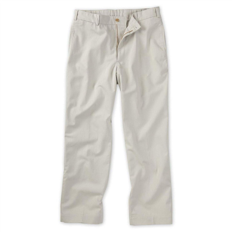 Original Twill Pant in Cement (Model M1, Size 32) by Bills Khakis