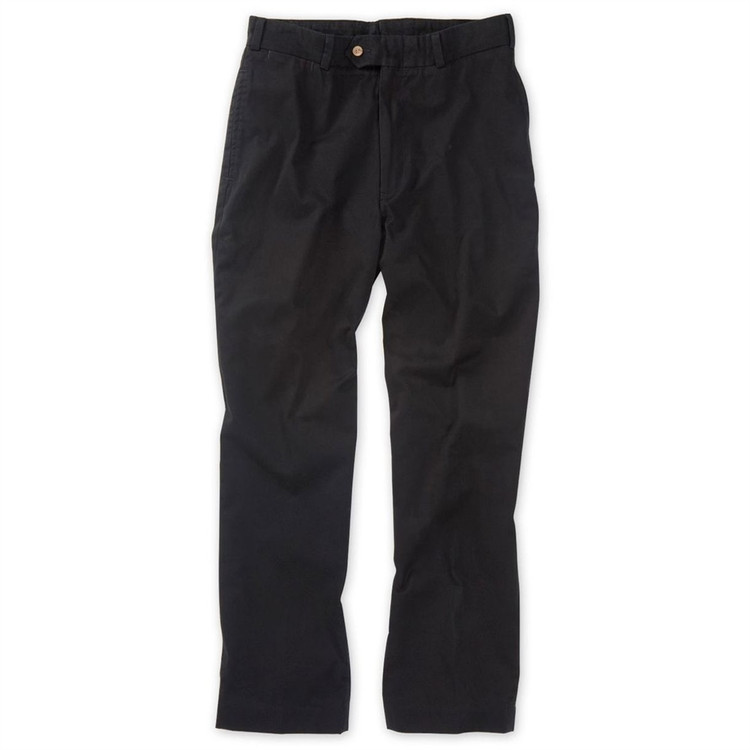 Chamois Cloth Pants in Black (Model M1, Size 33) by Bills Khakis