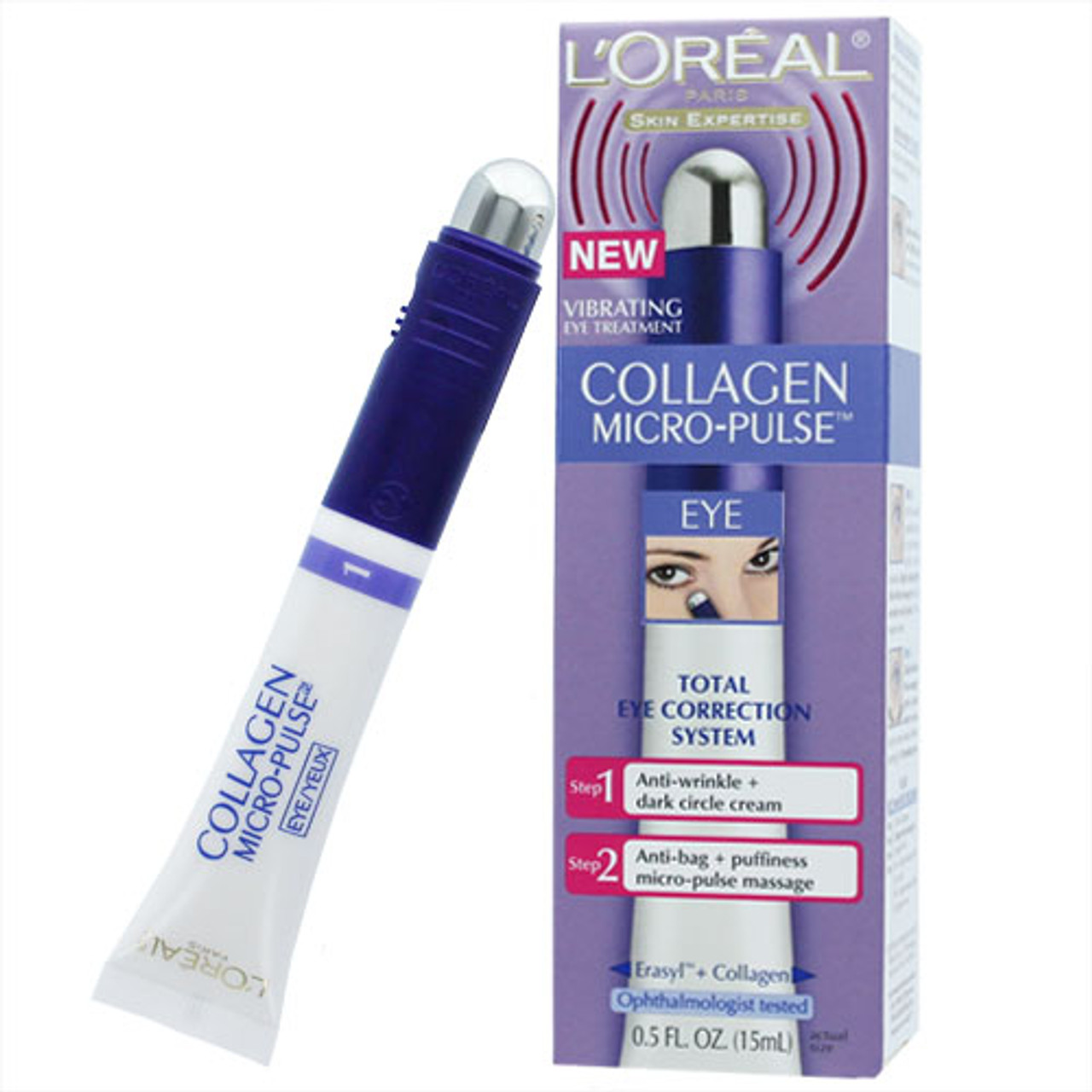 Loreal Collagen Micro-Pulse Vibrating Eye Treatment