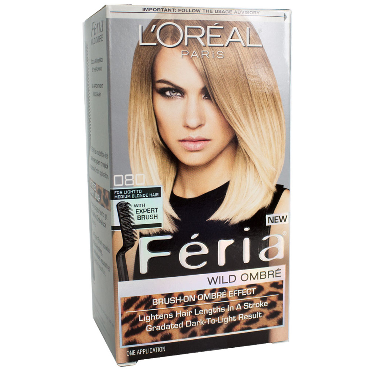 Loreal Feria Wild Ombre Brush On Ombre Effect Hair Color