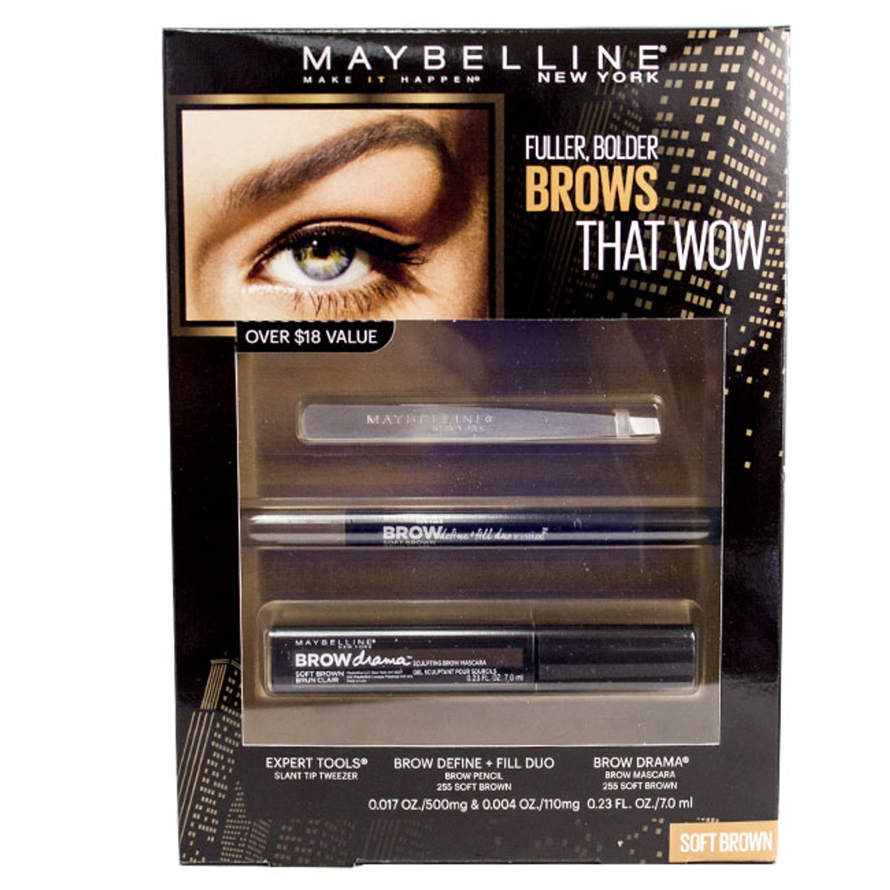 Maybelline Brows That Wow Gift Set Buymebeauty