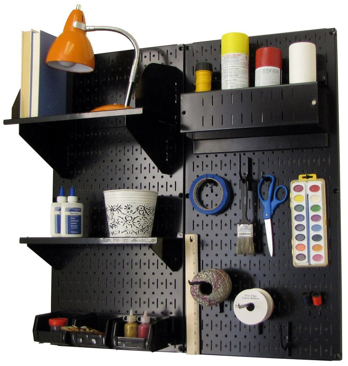 Ordinaire Peg Board Craft Organizer