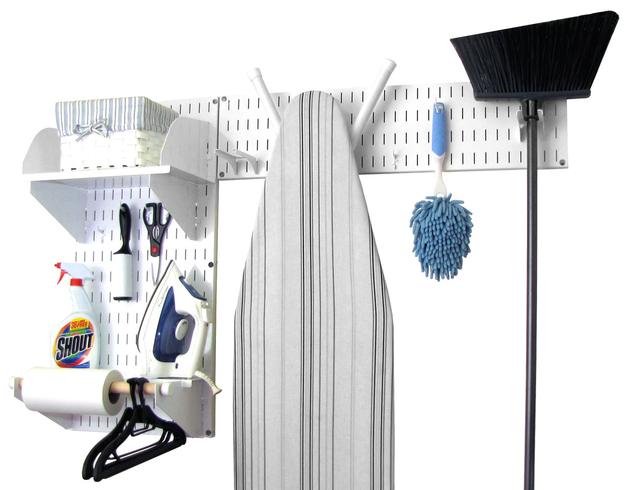 Laundry Room Wall Organizer | Closet Wall Organizer Kit | 10-LAU-200 ...
