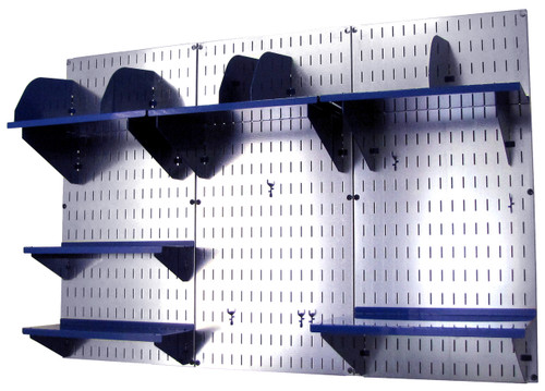 Office Wall Organizer Galvanized Steel Pegboard Wall