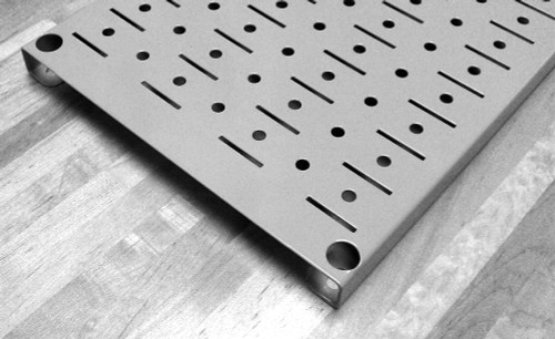 Narrow Pegboard Galvanized Peg Board Steel Pegboard
