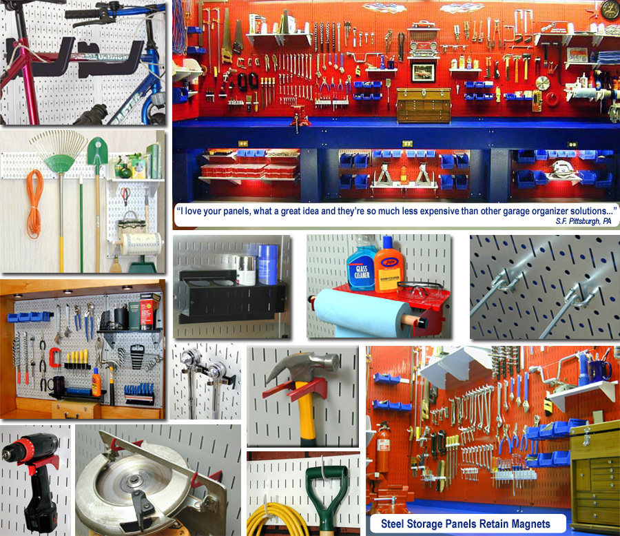 Gallery Of Garage Pegboard Tool Storage U0026 Organization
