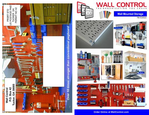 Wall Control Pegboard Catalog
