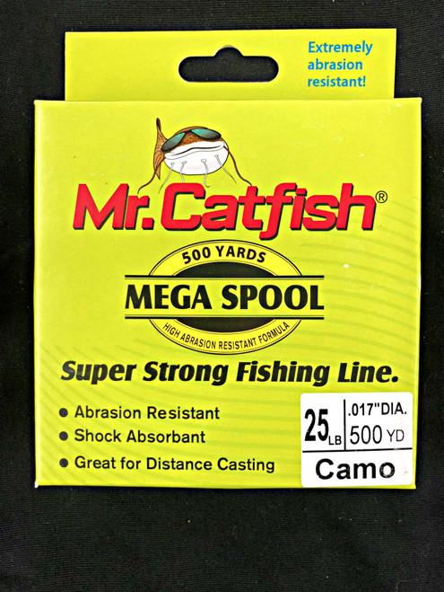 Mr. Catfish - Mega Spool - Camo