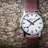 Mondaine Ultra Thin Men's Brown Watch