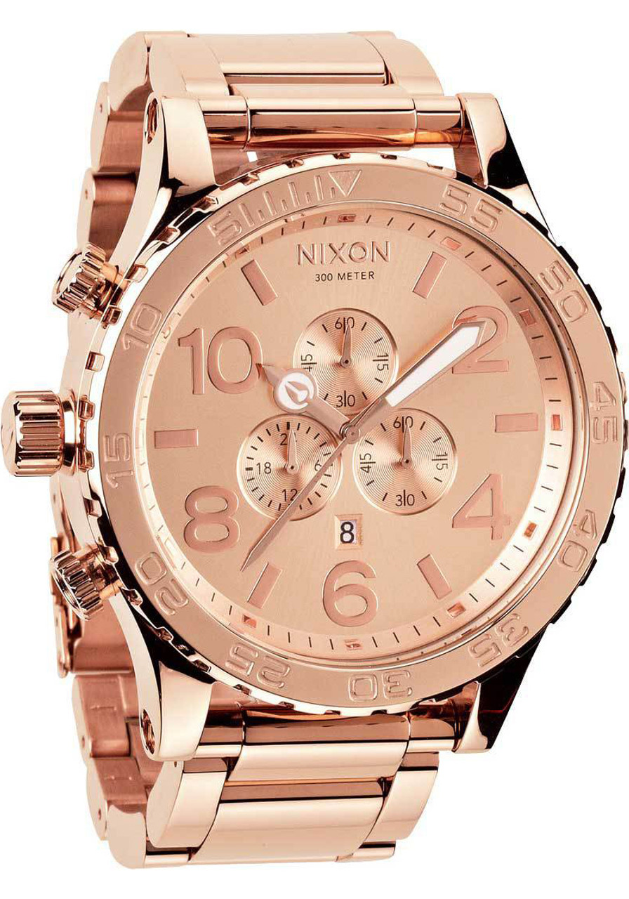Nixon 51 30 chrono rose gold for Watches rose gold