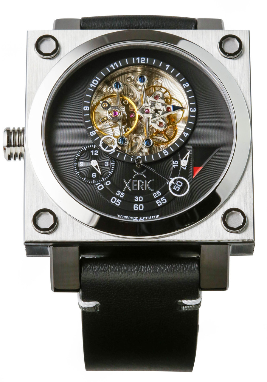 pin xeric edition gunmetal squared watch watches xeriscope brown limited