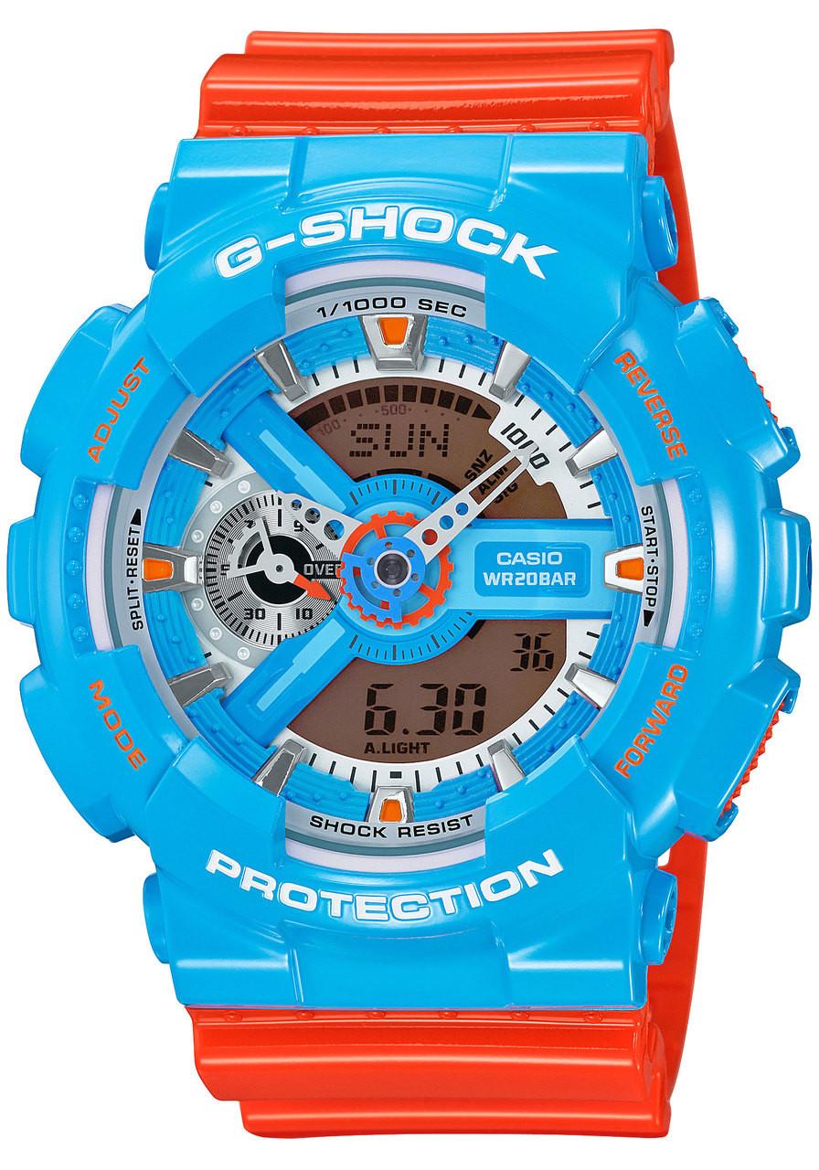 G Shock Ga 110nc 2a Orangeblue Watches